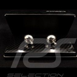 Gearshift cufflinks  Chrome Autoart 40193