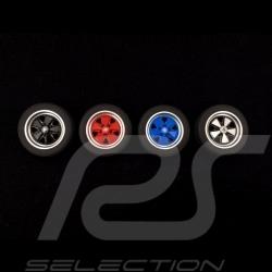 Set de 4 gommes Roues jantes Fuchs Autoart 40169 wheel rubber erasers Radiergummis
