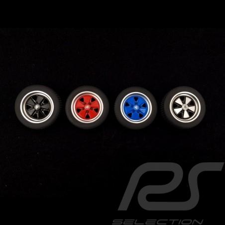 Set of 4 wheel rubber erasers Fuchs rims Autoart 40169