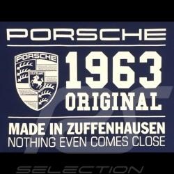 T-shirt Porsche Classic 1963 bleu Porsche WAP933M0SR - homme