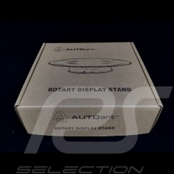 Rotary Display Turntable Stand 20 cm for 1/43 and 1/24 models Mirror Premium quality  Autoart 98018