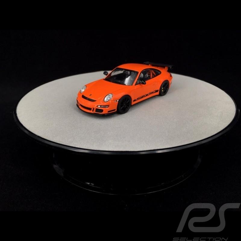 Plateau de présentation rotatif 20 cm pour modèles 1/43 et 1/24 Argent Qualité premium Autoart 98018