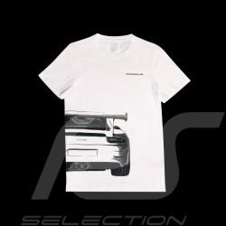 T-shirt Porsche 911 GT3 RS weiß Porsche WAP818M0SR - Herren