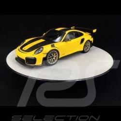Drehteller Durchmesser 31 cm für Modelle 1/18 Silber Premium Qualität  Autoart 98012