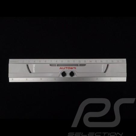 Règle Ruler Regel Porsche 911 GT3 RS Pare-chocs 20 cm Autoart 49122