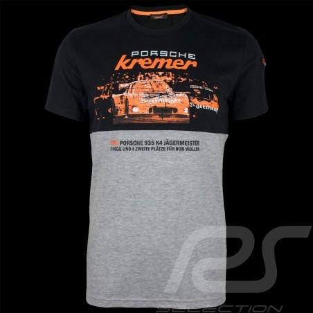 Porsche T-shirt Kremer Racing Porsche 935 K4 n° 52 black / heather gray - men