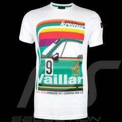 T-shirt Porsche Kremer Racing Porsche 911 Carrera n° 9 Blanc - homme