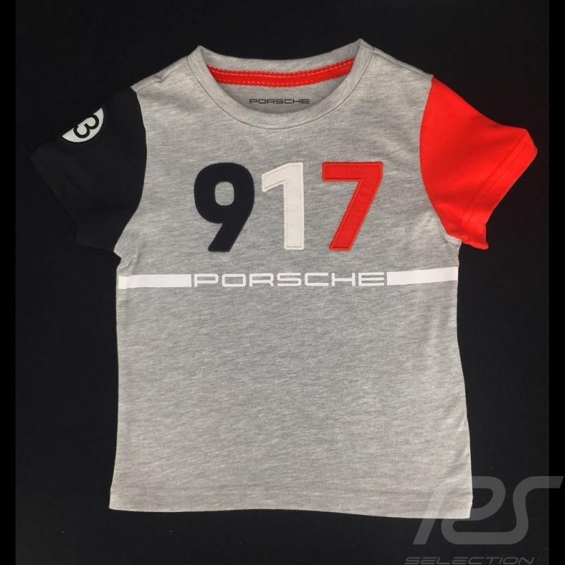 Porsche  T-shirt 917 Salzburg n°23 Le Mans 1970 Porsche WAP461MSZG - kids