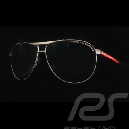 Lunettes de soleil Sunglasses Sonnenbrillen Porsche 917 Salzburg n°23 monture métal / verres miroir Porsche Design P'8642 WAP078