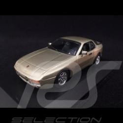 Porsche 944 S2 1989 beige 1/43 Minichamps 940062220