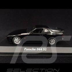 Porsche 944 S2 1989 black 1/43 Minichamps 940062221