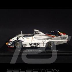 Porsche 936/80 n° 1 3rd 9h Kyalami 1982 1/43 Spark SG507