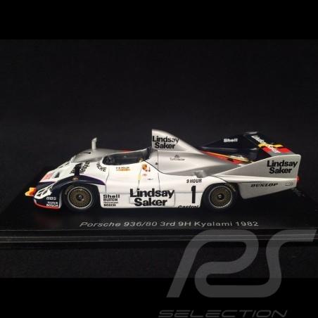 Porsche 936/80 n° 1 Platz 3 9h Kyalami 1982 1/43 Spark SG507