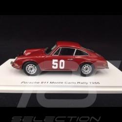 Porsche 911 n° 50 Rallye Monté Carlo 1966 1/43 Spark S6604
