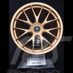 Porsche Rim Magnesium 2020 Satin Aurum Gold 1/5 Minichamps 500601991