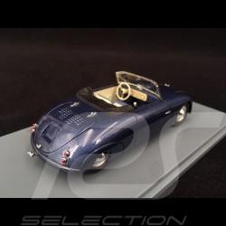 Porsche Waibel Special Sport Cabriolet 1948 bleu 1/43 Neo NEO46191