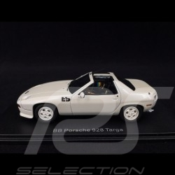 Porsche 928 BB Targa 1979 blanche 1/43 Neo NEO46580