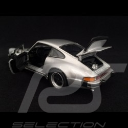 Porsche 911 Turbo 3.0 1974 silver grey 1/24 Welly 24043