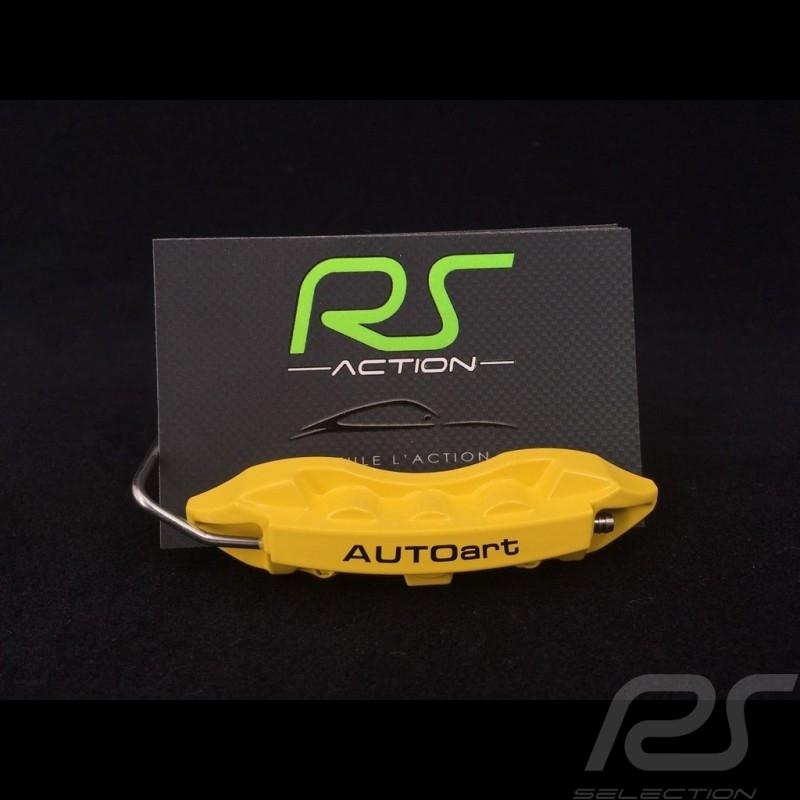 Cards holder Brake Caliper yellow Autoart 40254