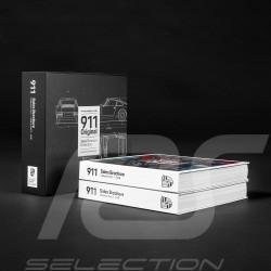 Livre Porsche 911 Sales Brochure Collection en coffret - Mark Wegh