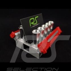 Cards holder Porsche Carrera GT engine Red Autoart 40258