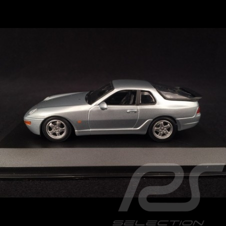 Porsche 968 CS 1993 argent 1/43 Minichamps 940062320 silver silber