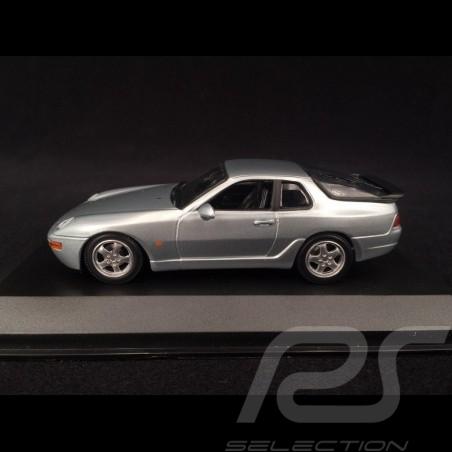 Porsche 968 CS 1993 silber 1/43 Minichamps 940062320
