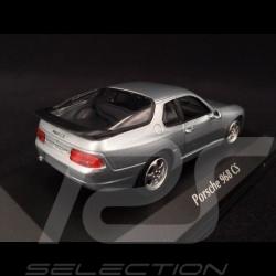 Porsche 968 CS 1993 silver 1/43 Minichamps 940062320