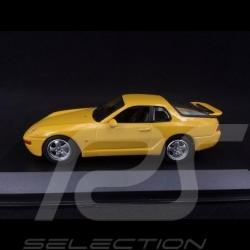 Porsche 968 CS 1993 yellow 1/43 Minichamps 940062321