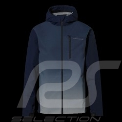 Veste Jacket Jacke Porsche à capuche coupe-vent Turbo Collection Bleu marine WAP217LTRB - homme