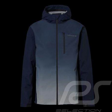 Veste Jacket Jacke Porsche à capuche coupe-vent Turbo Collection Bleu marine WAP217LTRB - homme