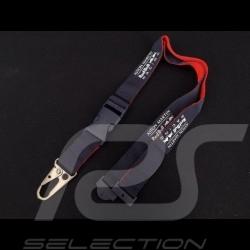 Porte-clés Aston Martin RedBull racing ruban tour de cou bleu marine