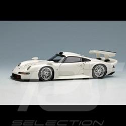 Porsche 911 GT1 1996 white Street Version 1/43 Make Up Eidolon EM472A