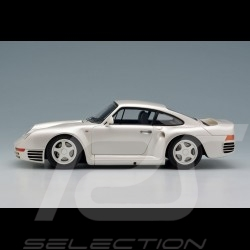 Porsche 959 1986 pearl white 1/43 Make Up Eidolon EM305A