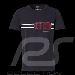 T-shirt Porsche 911 Heritage Collection 992 Targa 4S Collector box Edition n° 19 Porsche WAP325LHRT - Unisex