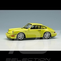 Porsche 911 Carrera RS NGT type 964 1992 yellow pastel 1/43 Make Up Vision VM142F