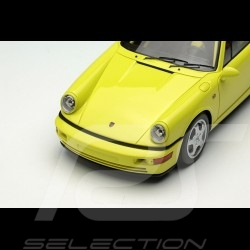 Porsche 911 Carrera RS NGT type 964 1992yellow pastel 1/43 Make Up Vision VM142F
