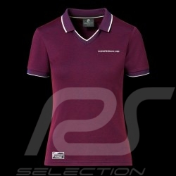 Porsche Polo shirt 911 Heritage Collection 992 Targa 4S Bordeaux red WAP321LHRT - women