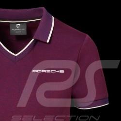 Porsche Polo shirt 911 Heritage Collection 992 Targa 4S Bordeaux red WAP321LHRT - women