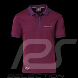Porsche Polo shirt 911 Heritage Collection 992 Targa 4S Bordeaus rot  WAP320LHRT - Herren