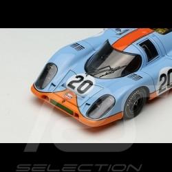 Porsche 917 K n° 20 Gulf racing John Wyer Automotive Le Mans 1970 1/43 Make Up Vision VM006A