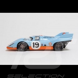 Porsche 917 K n° 19 Gulf racing John Wyer Automotive Le Mans 1971 1/43 Make Up Vision VM016A