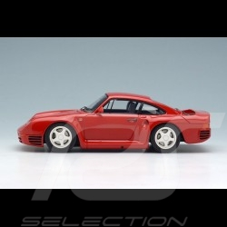 Porsche 959 1986 red 1/43 Make Up Eidolon EM305B