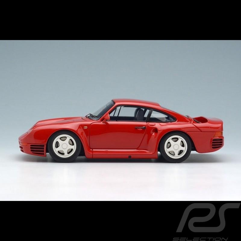 Porsche 959 1986 red 1/43 Make Up Eidolon EM305B