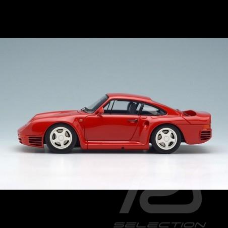 Porsche 959 1986 rot 1/43 Make Up Eidolon EM305B