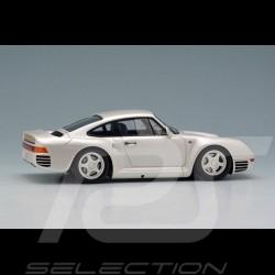 Porsche 959 1986 pearl white 1/43 Make Up Eidolon EM305A