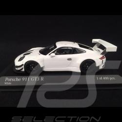 Porsche 911 GT3 R type 991 2018 blanche 1/43 Minichamps 413186799