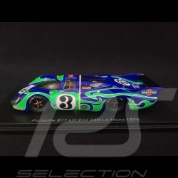 Porsche 917 LH n° 3 Psychedelic Platz 2 Le Mans 1970 1/43 Spark S0928