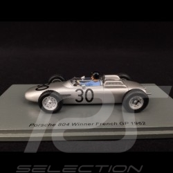 Porsche 804 n° 30 Winner French F1 GP 1962 1/43 Spark S7515