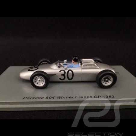 Porsche 804 n° 30 Sieger Frankreich F1 GP 1962 1/43 Spark S7515
